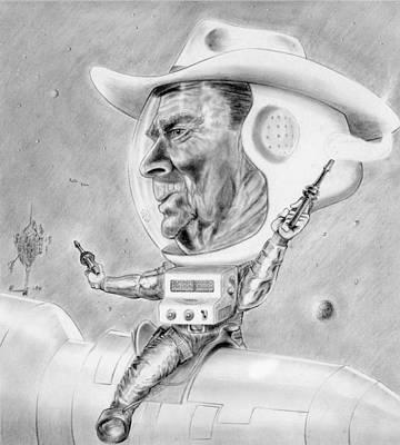 Reagan - Star Wars Art Print by John Barnard