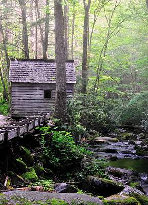 National Parks Photograph - Reagan's Mill - Tennessee by Thomas Schoeller