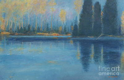 Painting - Real Canadian Wilderness by Al Hunter
