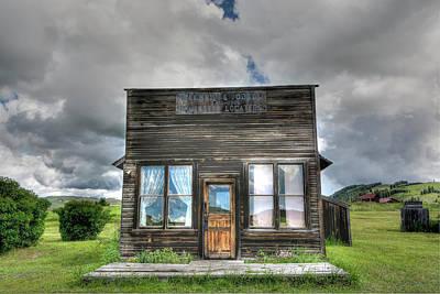 Photograph - Real Estate Office by Doug Matthews