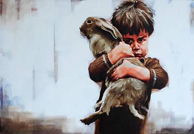 Figurativ Painting - Real Friendsheep by Igor Shulman