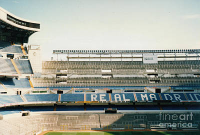 Cristiano Ronaldo Photograph - Real Madrid - Santiago Bernabeu Stadium - East Side 1 - Jan 1998 by Legendary Football Grounds