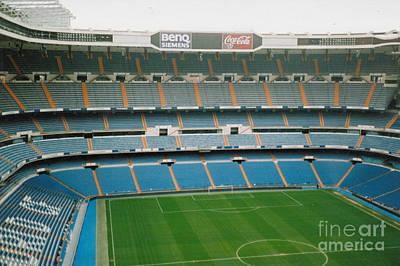 Cristiano Ronaldo Photograph - Real Madrid - Santiago Bernabeu Stadium - North End 2 - Nov 2007 by Legendary Football Grounds