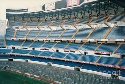 Cristiano Ronaldo Photograph - Real Madrid - Santiago Bernabeu Stadium - South End Stand 1 - Jan 1998 by Legendary Football Grounds