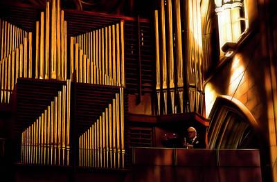 Photograph - Real Magic Of Music by Miroslava Jurcik