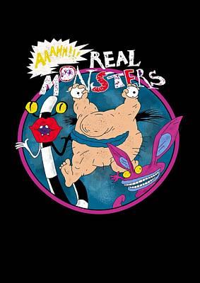 Real Monsters Art Print