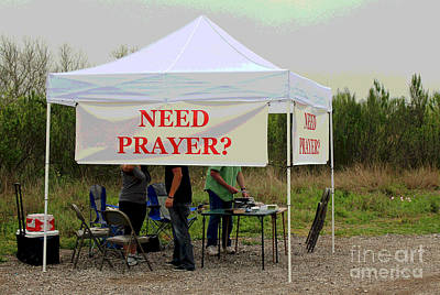 Prayer Warrior Photograph - Real Rest Stop by Joe Jake Pratt