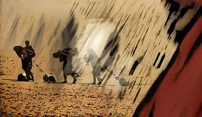Woman Digital Art - Reality by Vincent Marguerit