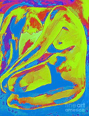Realization Within Art Print by Helena Wierzbicki