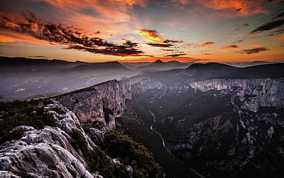 Mountain Royalty-Free and Rights-Managed Images - Realm of gods by Jorge Maia