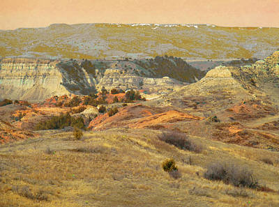 Photograph - Realm Of The Enchanted Badlands by Cris Fulton