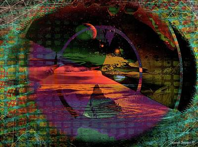 Digital Art - Realms by Wesley Nesbitt