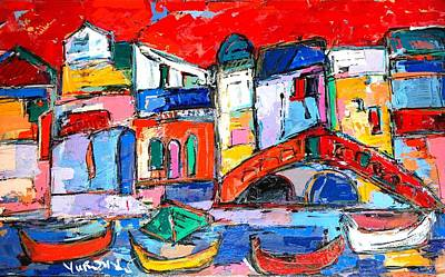 Painting - Rialto Venice by Len Yurovsky