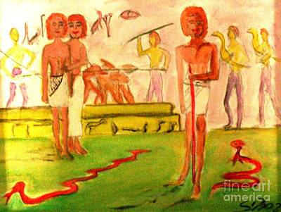 Painting - Reanimation Of Ancient Egypt by Stanley Morganstein
