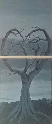 Tree Roots Painting - Reap What You Sow by Heather James