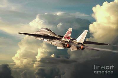 F-101 Digital Art - Reaper Launch by J Biggadike