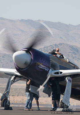 Photograph - Rear Bear Team At  Reno Air Races 2007 by Antoine Roels