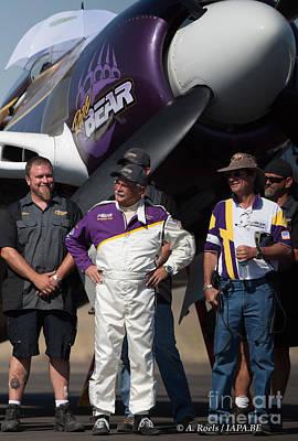 Photograph - Rear Bear Team  Reno Air Races  2007 by Antoine Roels