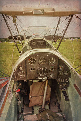 Photograph - Rear Seat Controls by Guy Whiteley