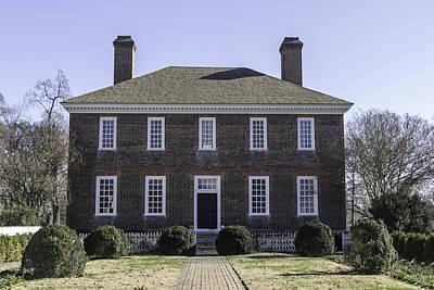 Rear View George Wythe House Art Print
