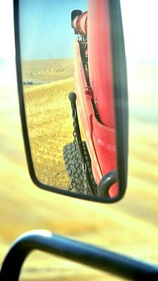 Photograph - Rear View Mirror 6865 by Jerry Sodorff