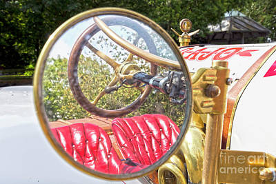 Photograph - Rear View Mirror by Terri Waters