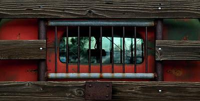 Rear Window Art Print by Murray Bloom
