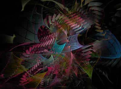 Reason Digital Art - Reason And Virtue - Fractal Art by NirvanaBlues