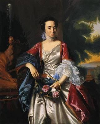Painting - Rebecca Boylston 1767 by Copley John Singleton