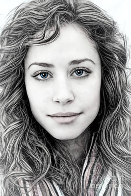 Rebecca Art Print