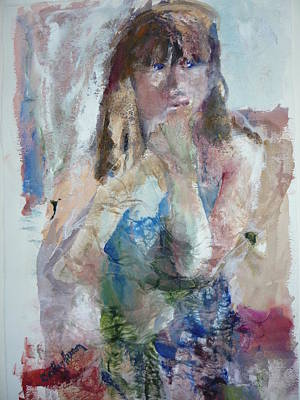 Painting - Rebecca by Dorothy Herron