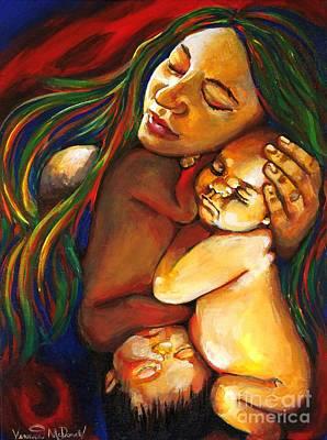 Painting - Rebekah by Veronica McDonald
