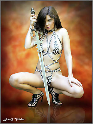 Photograph - Rebel Amazon by Jon Volden