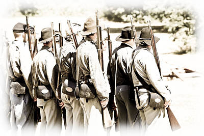 Photograph - Rebel Soldiers by Athena Mckinzie