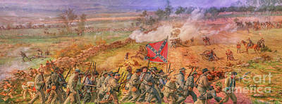 Digital Art - Rebel Yell Gettysburg by Randy Steele