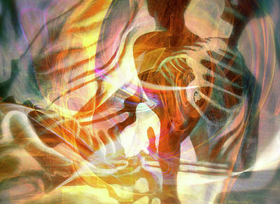 Digital Art - Rebirth 10 by Helene Kippert