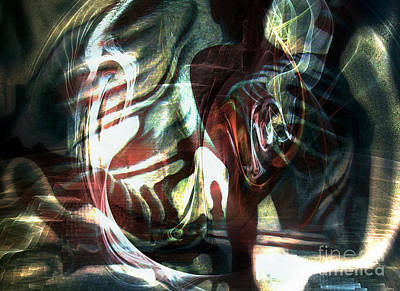 Digital Art - Rebirth 2 by Helene Kippert