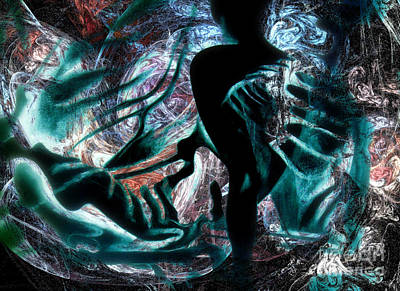 Digital Art - Rebirth 6 by Helene Kippert