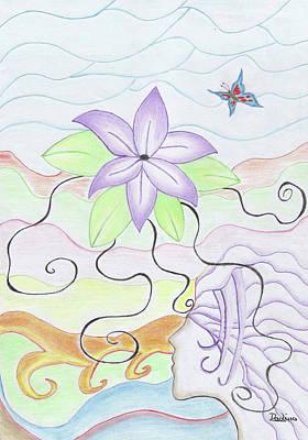 Rebirth Original by Adina Art