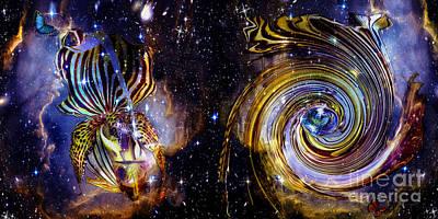 Digital Art - Rebirth And Eternity by Laurel D Rund