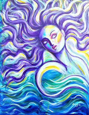 Painting - Rebirth by Anya Heller