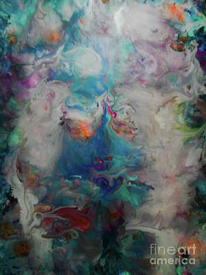 Justine Painting - Reborn  by Elle Justine