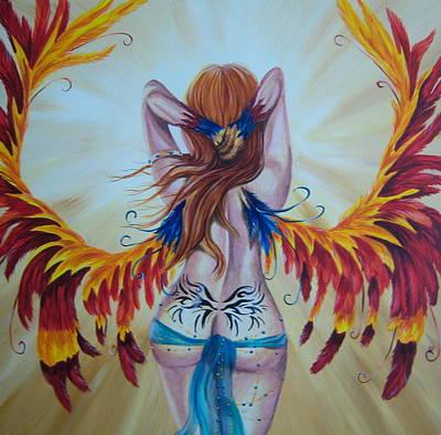 Rebirth Art Print by Heather Valentin