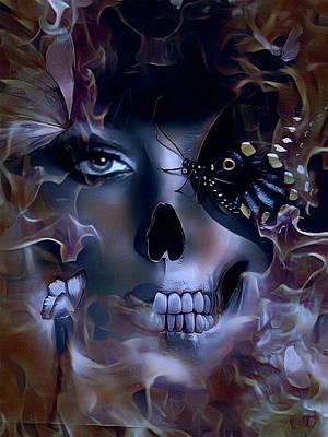Digital Art - Rebirth by Kathy Kelly