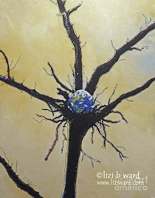 Painting - Rebirth by Lizi Beard-Ward