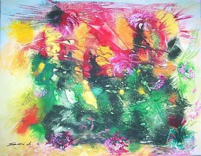 Painting - Rebirth  by Mary Sedici