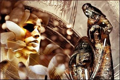 Nativity Digital Art - Reborn  by Daniel Arrhakis