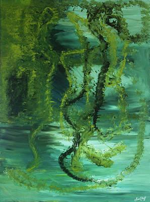 Painting - Recalibrating Consciousness by Liana Shanti