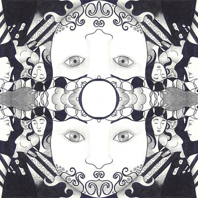 Quan Yin Mixed Media - Recalling The Goddess 2 by Helena Tiainen