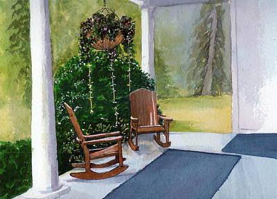 Art Print featuring the painting Recap by Lynn Babineau